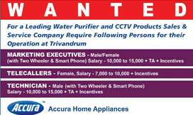 Tele caller Cum Office Incharge Wanted urgently