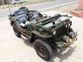 Willys Hunter open modified jeeps shri Bala ji modifiers