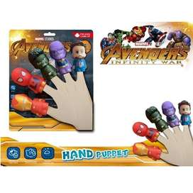 Marvel Avengers Mini Hand Puppets for kids