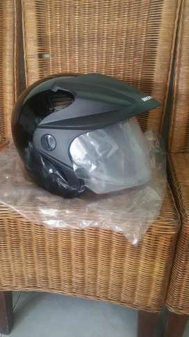 Helm ori Honda hitam