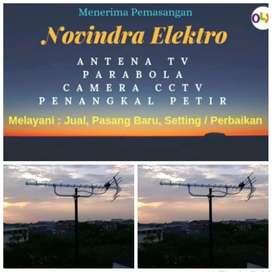 Pusat jual pasang antena tv murah lokasi Larangan
