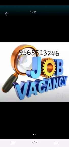 Vacancies for data entry