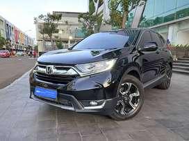 Spesial Unit Honda CRV 1.5 Turbo Bensin A/T 2017 Hitam