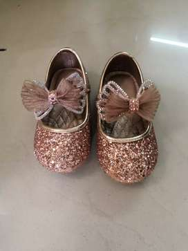 Baby golden shoes high quality