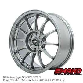 Yokote Smg - Velg Mobil Racing Hsr Wheel H8