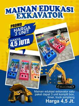 Mainan Anak Excavator Mini