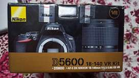Nikon 5600D  with 50MM 1.8G and 18- 140