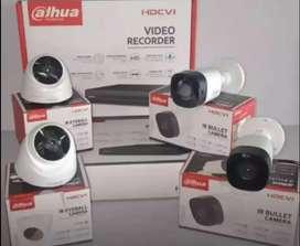 Paket pasang cctv Dahua 4 kamera Bergaransi
