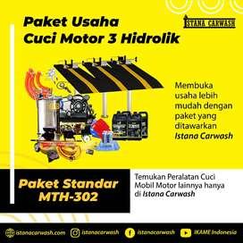 Paket Usaha Cuci Motor 3 Hidrolik / Alat Cuci Motor dengan 3 Hidrolik