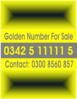 Golden Telenor Cell number for Sale