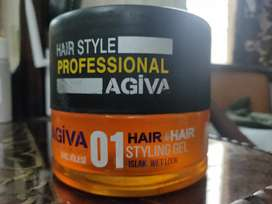 Agiva professional hair styling gel