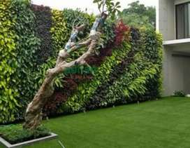 Taman vertikal garden