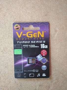 Micro SD VGEN 16 Gb Class 10 Turbo