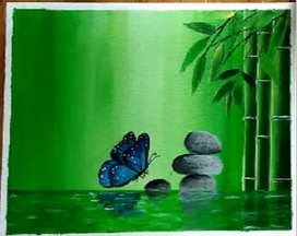 Greenscape   Beautiful painting