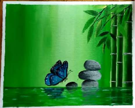 Greenscape | Beautiful painting
