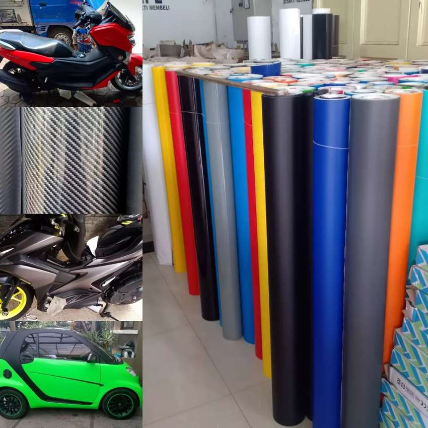 STIKER MOTOR MOBIL ORACAL WRAPPING 0