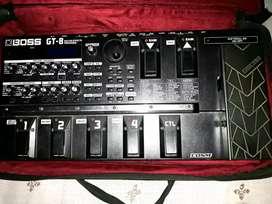 Gt 8 guitar processor