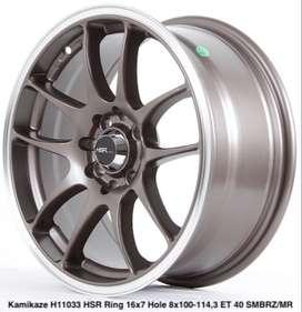 order KAMIKAZE 11033 HSR R16X7 H8X100-114,3 ET40 SMBRZ/MR