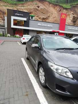 Corolla Altis for rent with driver.(0348,3759979)