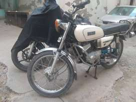 Yamaha RX 100 in great condition.