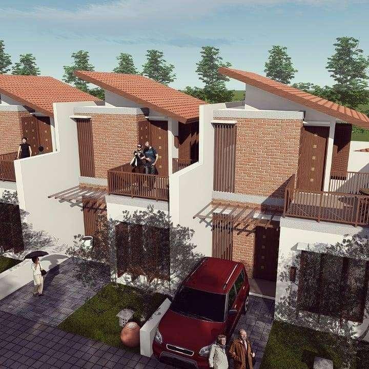rumah cluster 2 lantai harga 1 lantai