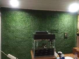 Rumput Sintetis Bisa Juga Untuk Dekorasi Dinding Tembok