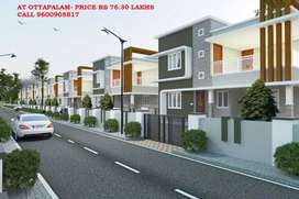 5 minutes drive from railway station- 4 BHK Duplex house @ Ottapalam