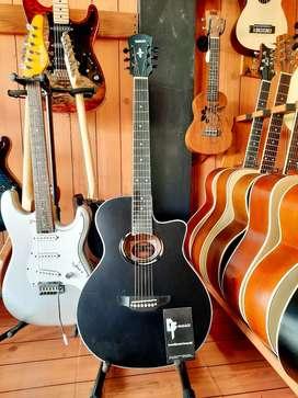 Gitar Akustik Apx500 Black Double Run