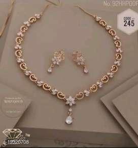 New American Diamond Necklace set