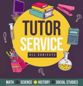 Tutions for students 1 to 10 and puc commerce