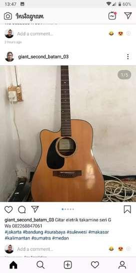 Gitar acoustik takamine seri G.EG340CLH