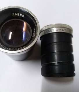 Two projector lenses for sale; each lens price 3.500/-Rs