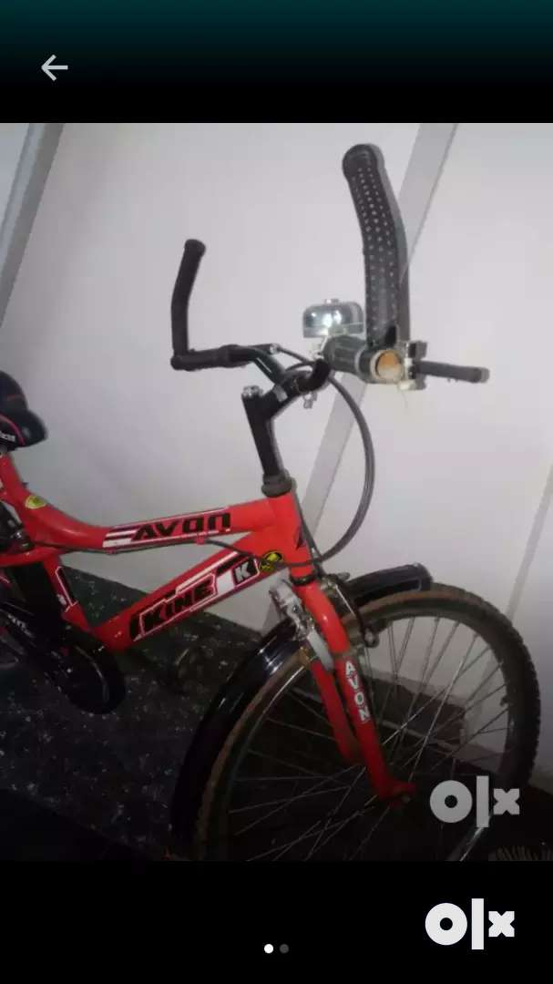 Black and red bicycle. MRP: 5500/- 0