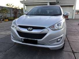Hyundai Tucson Sunroof Tipe XG Km 45rb Thn 2013 Silver AT Matic