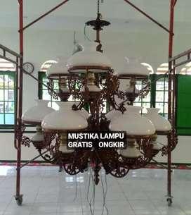 Grosir dan produksi Lampu Gantung antik cabang 9