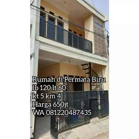 Rumah murah komplek permata biru Cileunyi Bandung Timur