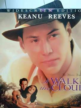 Laser Disc Keanu Reeves' A Walk in the Cloud