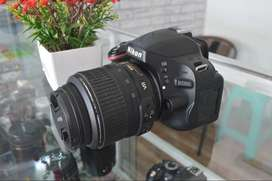 Nikon Dslr D5100 Kit 18-55 VR Siap Hunting