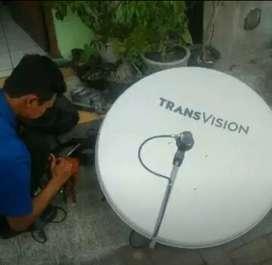 *Promo Parabola Transvision HD Kendari Paket Diskon Hemat*