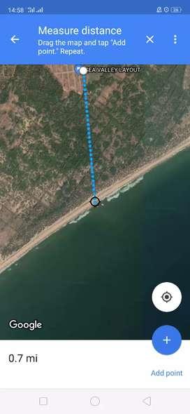 Plot for sale at Chippada bheemili Mandal Beach