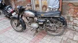 Vintage  Villers  crusider 175cc