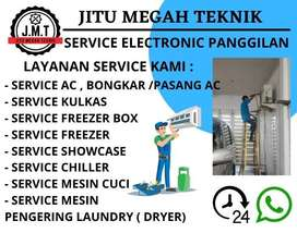 Service AC Mesin Cuci Jasa Servis Kulkas Freezerbox Showcase Pasang AC