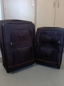 Trolley bag suitcase Shiner company 2pic set two wheel