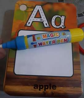 Learning Alphabet cards - Coloring cards & Pens