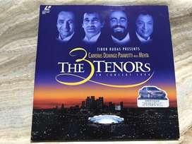 Laserdisc The 3 Tenors in Concert 1994