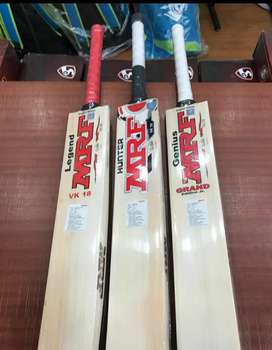 Individual Hand Crafted English Willow bat,  Brand New , Double Press
