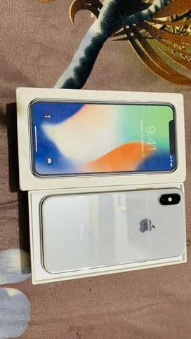 Iphone x 256 box with charger 10/10 Pta aproved with box charger