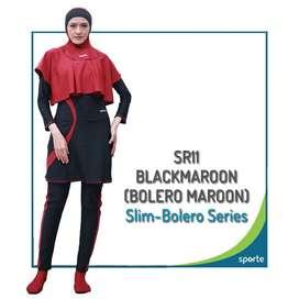 baju renang muslimah sporte SR 11 balero slimfit