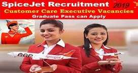Spice-Jet Airlines Apply Now- 10th,12th Pass Job candidates for Airlin