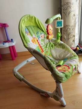 Fisher price infant to toddler baby rock chair